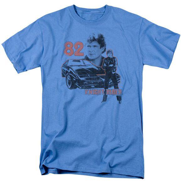 Knight Rider 1982 Short Sleeve Adult Carolina Blue T-Shirt