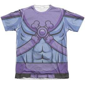 Masters Of The Universe Skeletor Costume Adult Poly Cotton Short Sleeve Tee T-Shirt