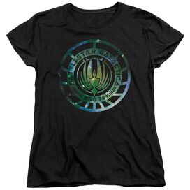 Battlestar Galactica (New) Galaxy Emblem Short Sleeve Womens Tee T-Shirt