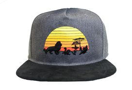 Lion King Sunset Hat