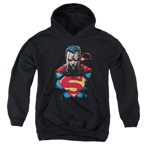 Superman Displeased Youth Pull Over Hoodie