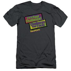 WARHEADS FACE YOUR CHALLENGE - S/S ADULT 30/1 - CHARCOAL T-Shirt