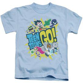 Teen Titans Go Go Short Sleeve Juvenile Light T-Shirt