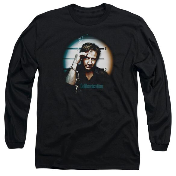 Californication In Handcuffs Long Sleeve Adult T-Shirt