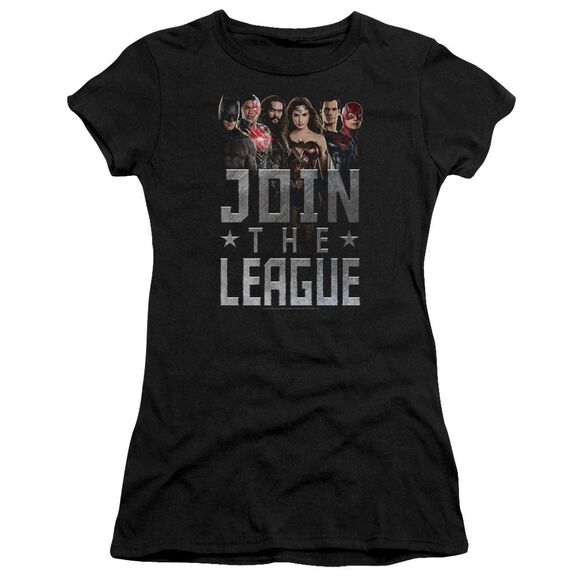 Justice League Movie Join The League Hbo Short Sleeve Junior Sheer T-Shirt