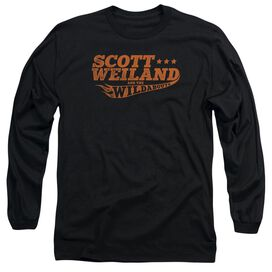 Scott Weiland Logo Long Sleeve Adult T-Shirt