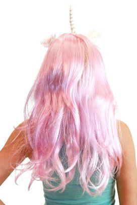 Flower Deluxe Pony Wig