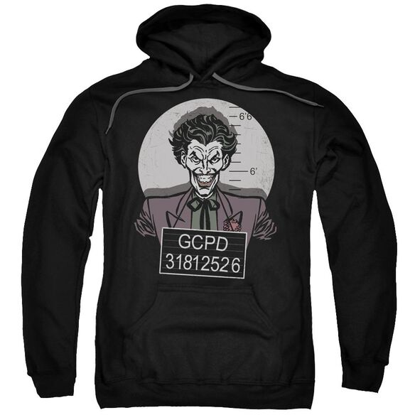 Batman Busted! Adult Pull Over Hoodie