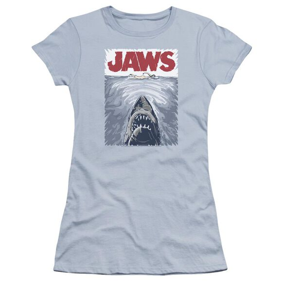 Jaws Graphic Poster Premium Bella Junior Sheer Jersey Light