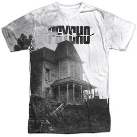 Psycho Bates House Short Sleeve Adult 100% Poly Crew T-Shirt