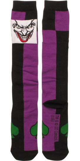 Joker Face Ladies Knee High Socks