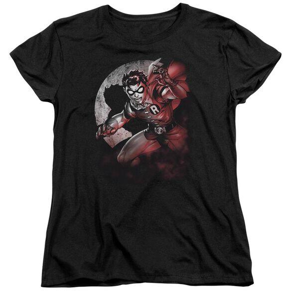 Batman Robin Spotlight Short Sleeve Womens Tee T-Shirt