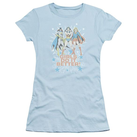 Dc Girls Do It Better Short Sleeve Junior Sheer Light T-Shirt