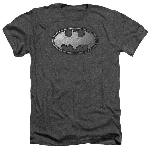 Batman Duct Tape Logo Adult Heather