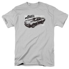 FAST AND THE FURIOU PRAY CAR - S/S ADULT 18/1 - SILVER - 3X - SILVER T-Shirt
