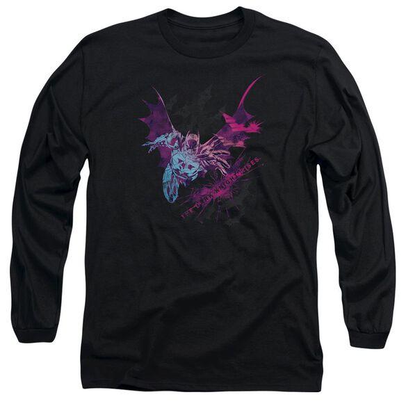 Dark Knight Rises Batarang Long Sleeve Adult T-Shirt