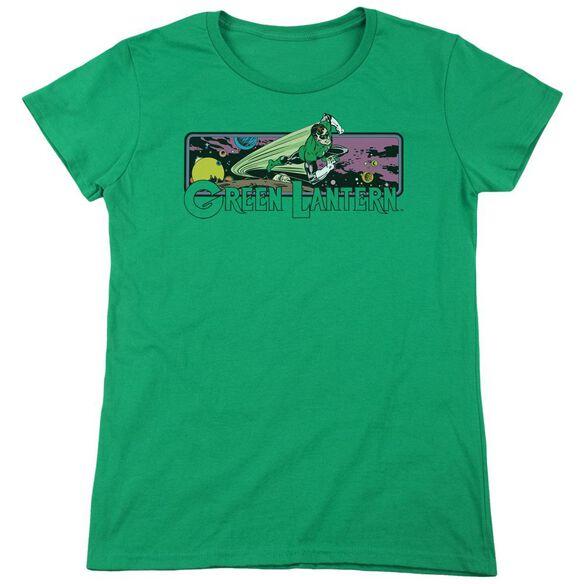Dc Lantern Cosmos Short Sleeve Women's Tee Kelly T-Shirt