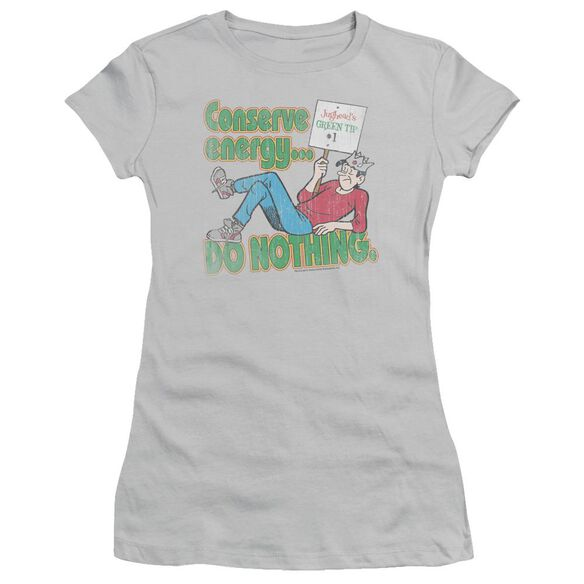 Archie Comics Conserve Energy Short Sleeve Junior Sheer T-Shirt