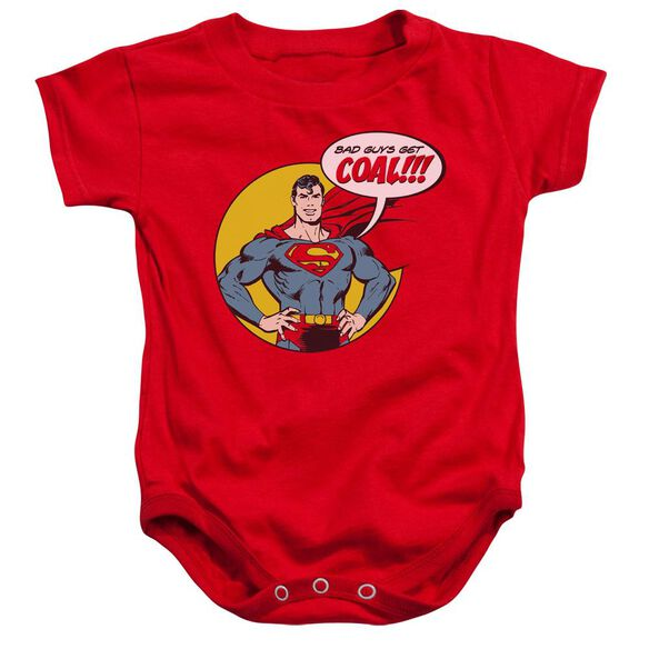 Dc Coal Infant Snapsuit Red