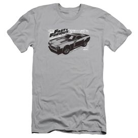 FAST AND THE FURIOU PRAY CAR - S/S ADULT 30/1 - SILVER T-Shirt