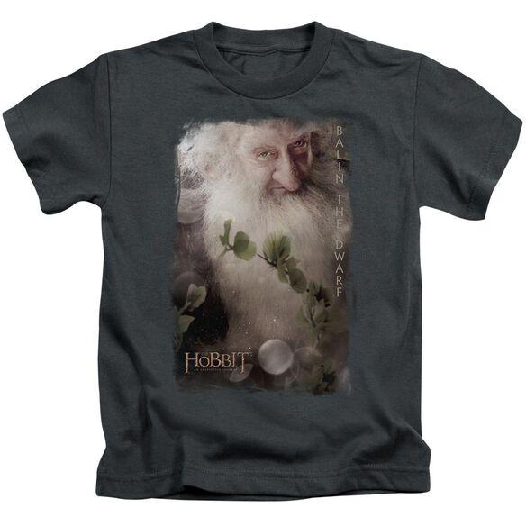 The Hobbit Balin Short Sleeve Juvenile Charcoal T-Shirt