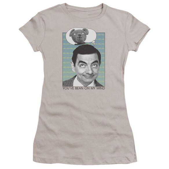 Mr Bean On My Mind Premium Bella Junior Sheer Jersey