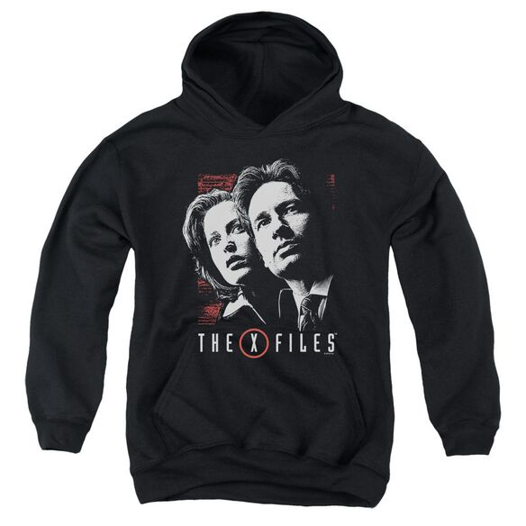 X Files Mulder & Scully Youth Pull Over Hoodie