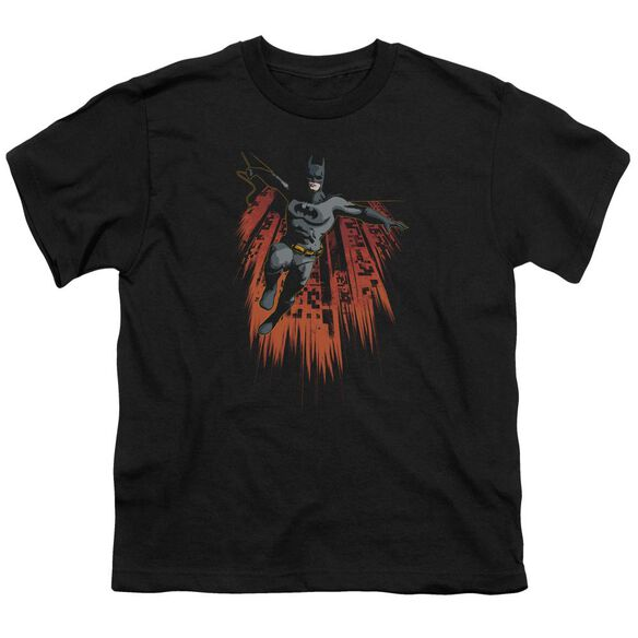 Batman Majestic Short Sleeve Youth T-Shirt