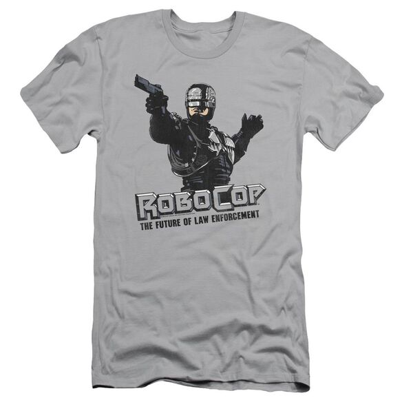 Robocop Future Of Law Short Sleeve Adult T-Shirt