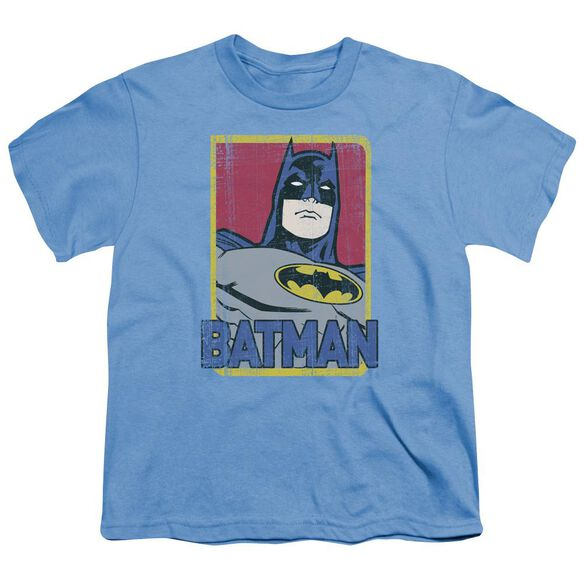 Batman Primary Short Sleeve Youth Carolina T-Shirt