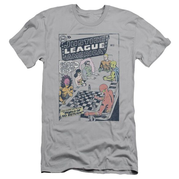Jla World Of No Return Short Sleeve Adult T-Shirt