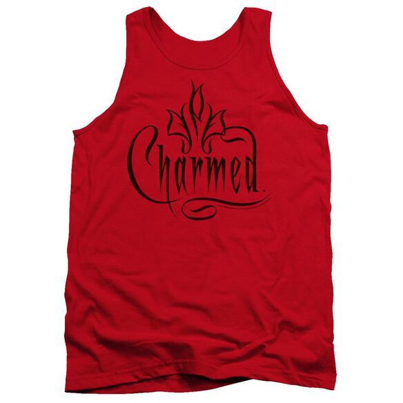 Charmed Charmed Logo - Adult Tank - Red