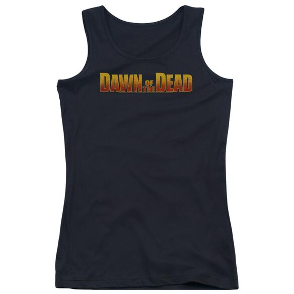 Dawn Of The Dead Dawn Logo Juniors Tank Top