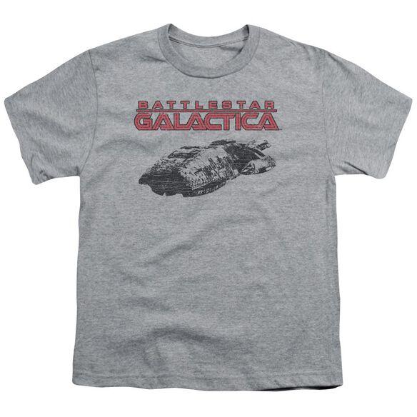 Bsg Ship Logo Short Sleeve Youth Athletic T-Shirt