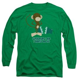 I Didnt Do It! Long Sleeve Adult Kelly T-Shirt