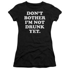 Don't Bother Short Sleeve Junior Sheer T-Shirt