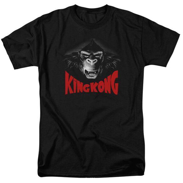King Kong Kong Face Short Sleeve Adult T-Shirt