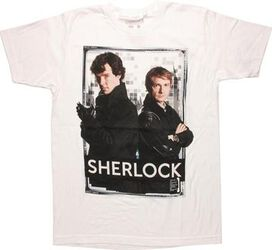 Sherlock Back to Back Frame T-Shirt