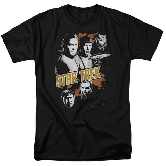 Star Trek Graphic Good Vs Evil Short Sleeve Adult T-Shirt