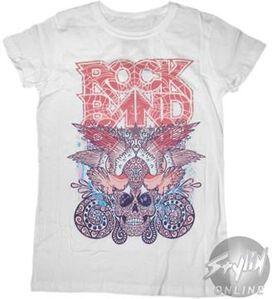 Rock Band Cracked Name Baby Tee