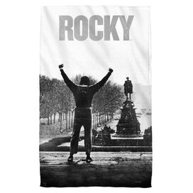 Rocky Poster Face Hand Towel