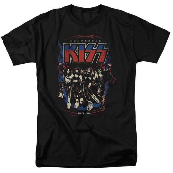 Kiss Destroyer Short Sleeve Adult T-Shirt
