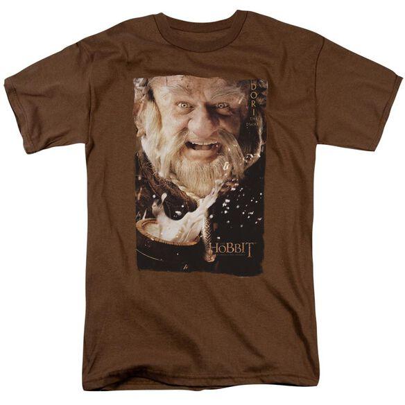 The Hobbit Dori Short Sleeve Adult Coffee T-Shirt