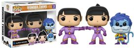 Exclusive SDCC 2017 Wonder Twins 3pk Funko Pop!