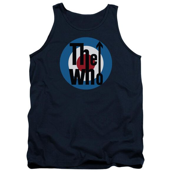 The Who Logo Adult Tank
