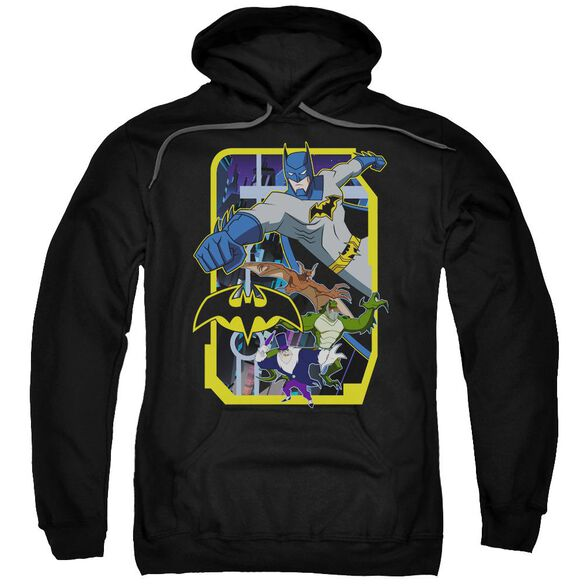 Batman Unlimited Unlimited Villains Adult Pull Over Hoodie