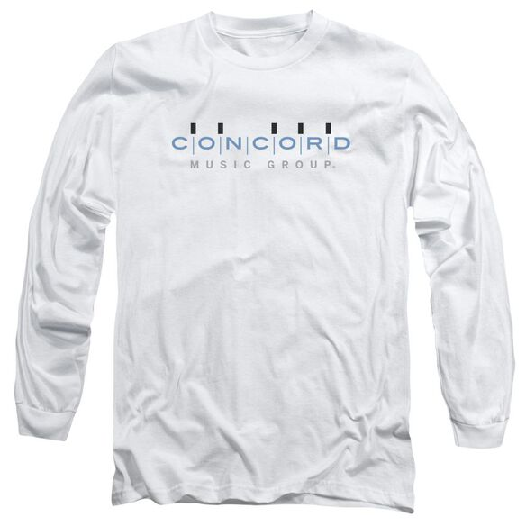 Concord Music Concord Logo Long Sleeve Adult T-Shirt