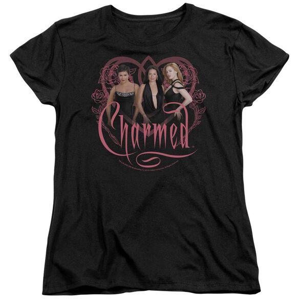 Charmed Charmed Girls Short Sleeve Womens Tee T-Shirt