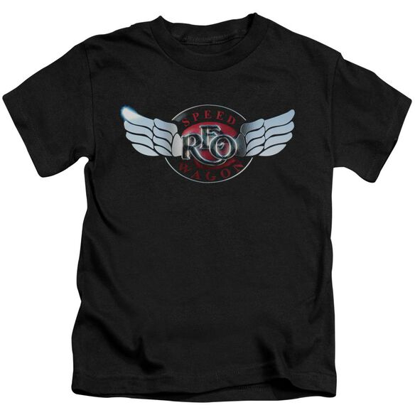 Reo Speedwagon Rendered Logo Short Sleeve Juvenile T-Shirt