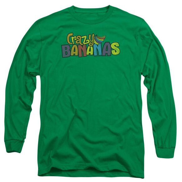 Dubble Bubble Crazy Bananas Long Sleeve Adult Kelly T-Shirt